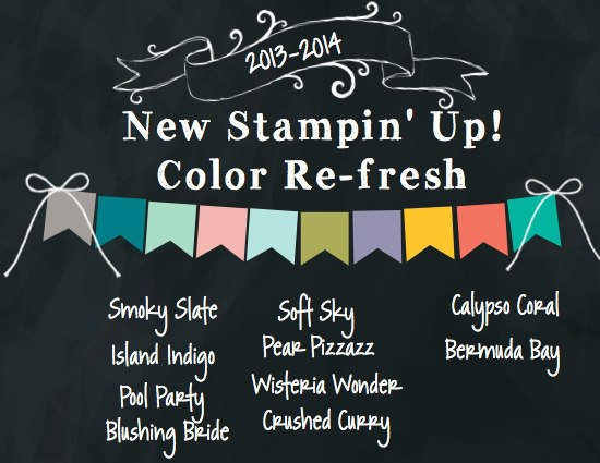 Stampin Up Color Refresh